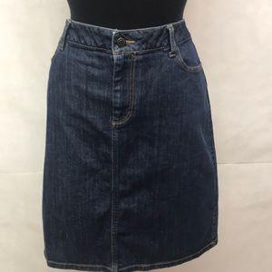 Talbots Denim Skirt